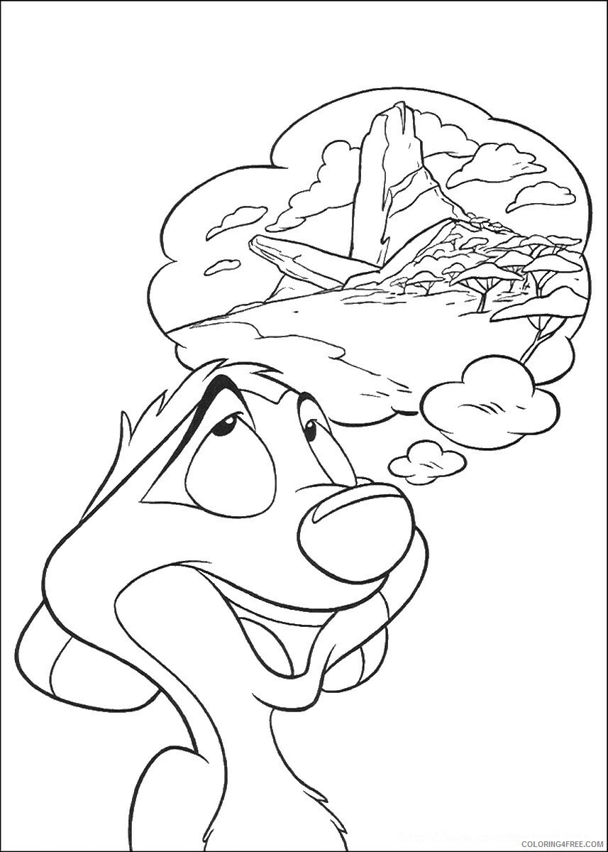 The Lion King Coloring Pages TV Film lionking_44 Printable 2020 09167 Coloring4free