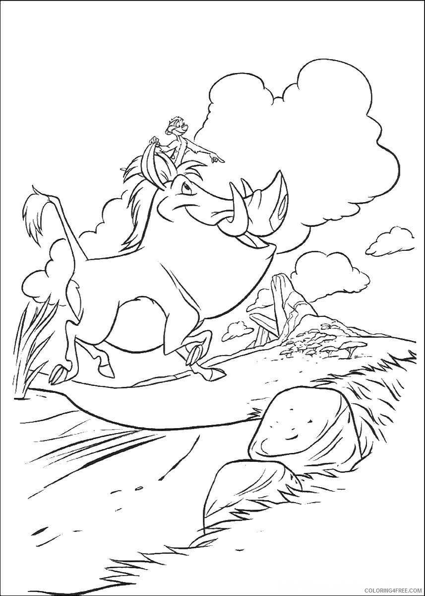 The Lion King Coloring Pages TV Film lionking_45 Printable 2020 09168 Coloring4free
