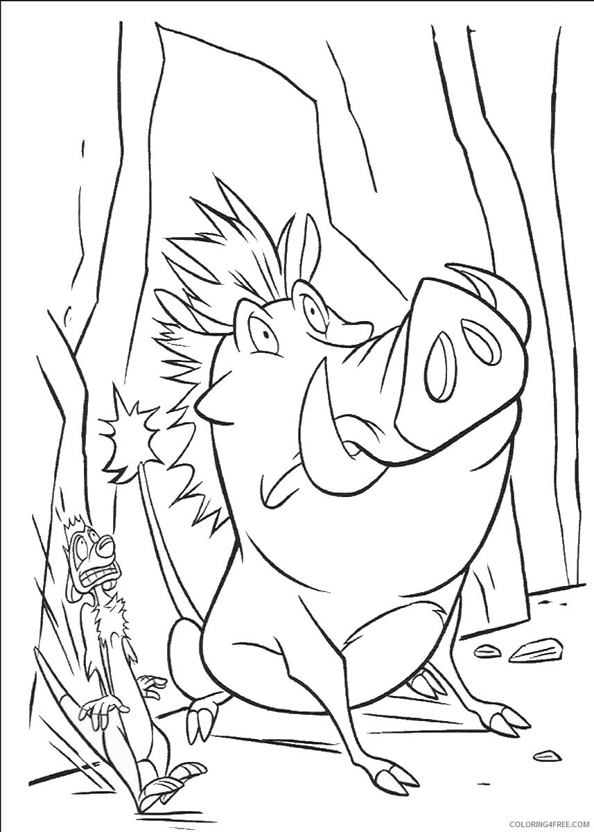 The Lion King Coloring Pages TV Film lionking_59 Printable 2020 09180 Coloring4free