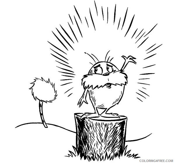 The Lorax Coloring Pages TV Film The Lorax is so Sad Printable 2020 09344 Coloring4free