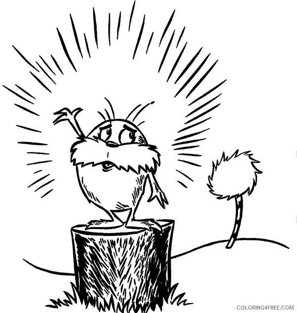The Lorax Coloring Pages TV Film the Last Truffula Tree Printable 2020 09331 Coloring4free