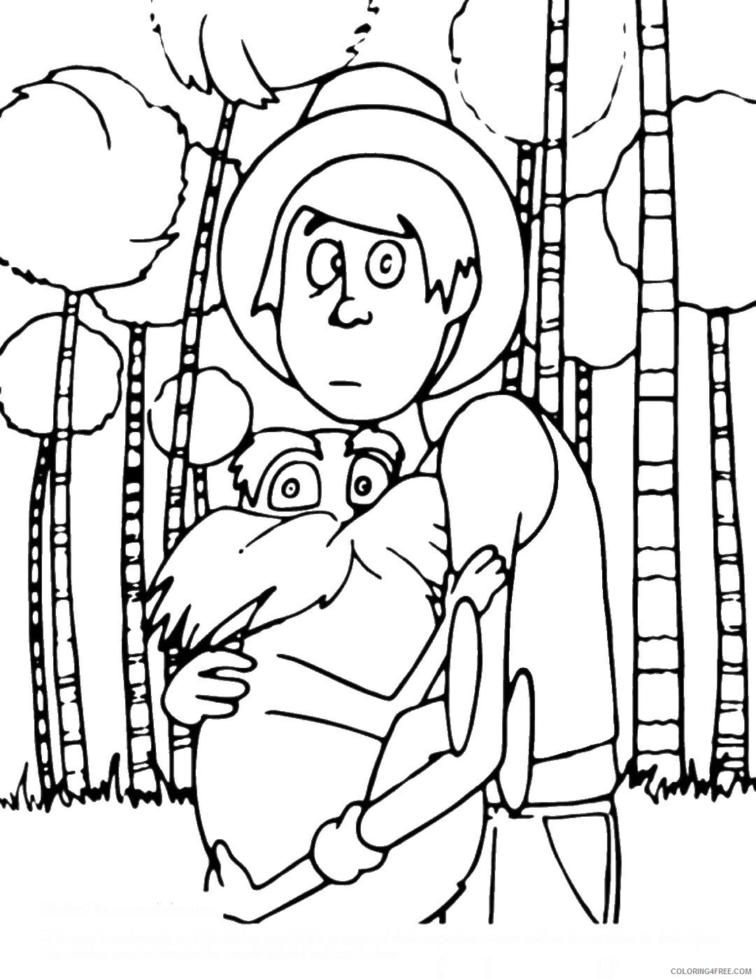 The Lorax Coloring Pages TV Film the_lorax_cl_02 Printable 2020 09315 Coloring4free