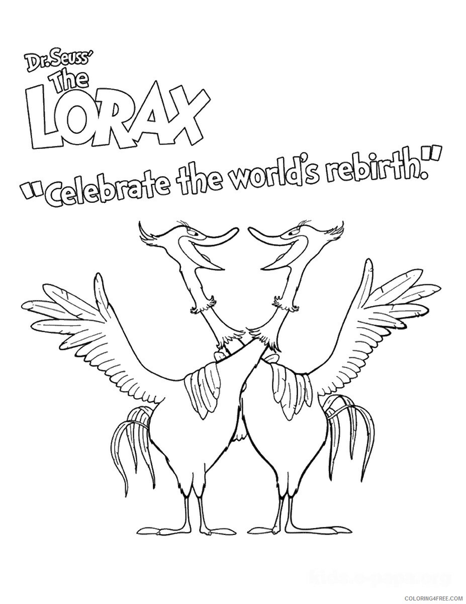 The Lorax Coloring Pages TV Film the_lorax_cl_03 Printable 2020 09316 Coloring4free