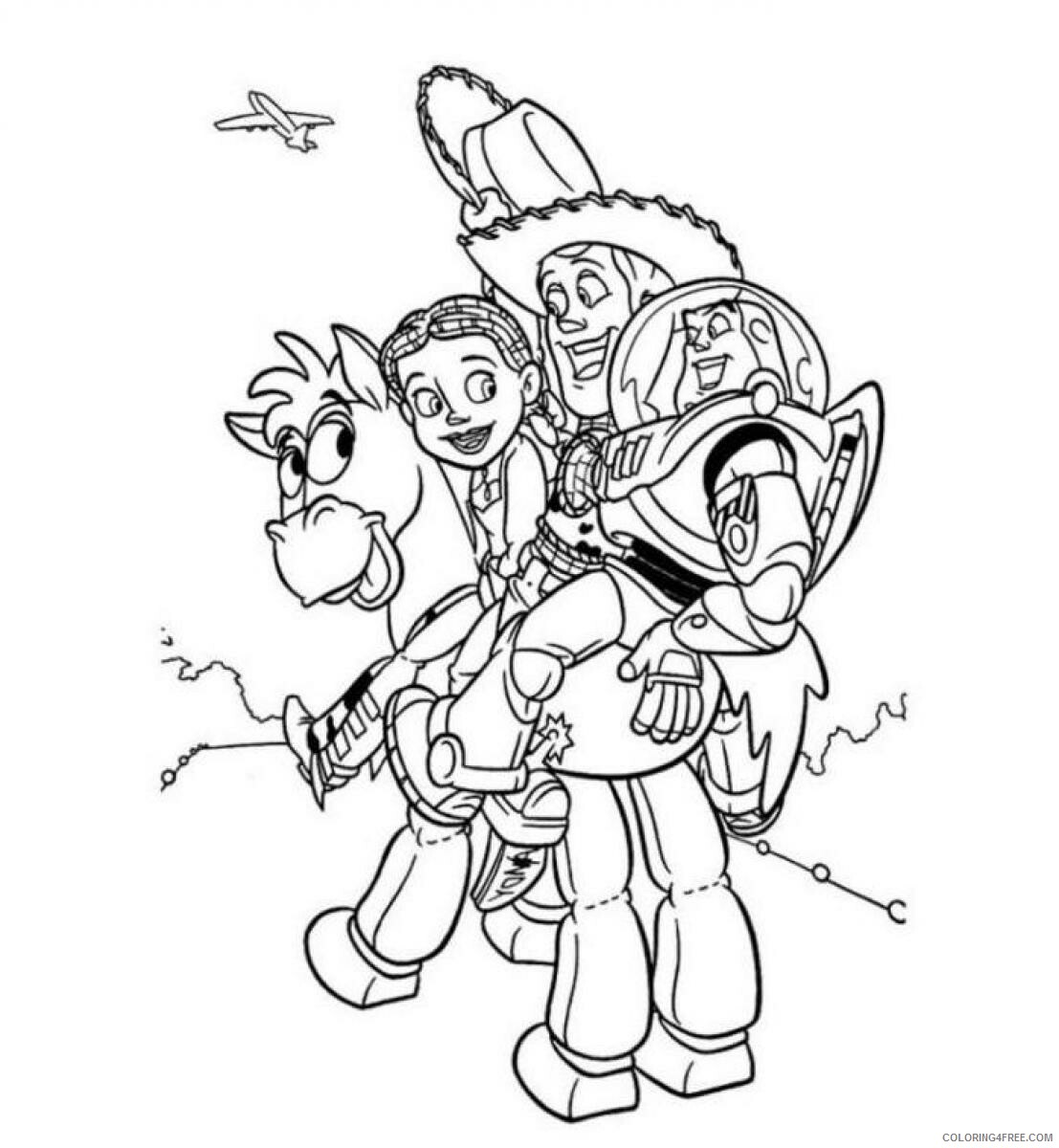 Toy Story Coloring Pages TV Film Toy Story 18 Printable 180180 18 ...