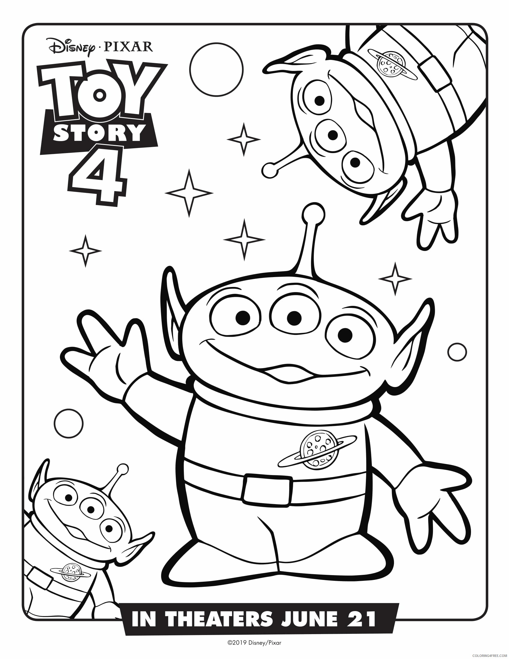 Toy Story Coloring Pages TV Film Toy Story 18 Movie Printable 18 ...