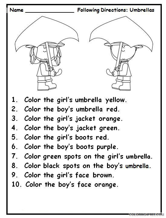 1st Grade Coloring Pages Educational Reading Worksheets Printable 2020 0064  Coloring4free - Coloring4Free.com