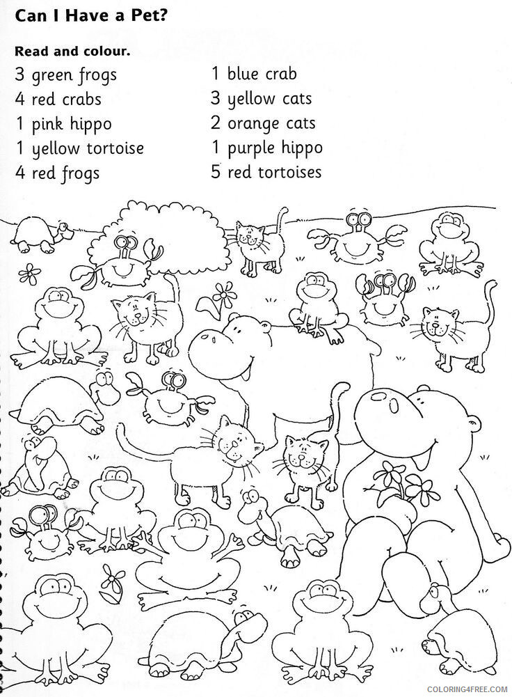 1st Grade Coloring Pages Educational Worksheets Printable 2020 0089  Coloring4free - Coloring4Free.com