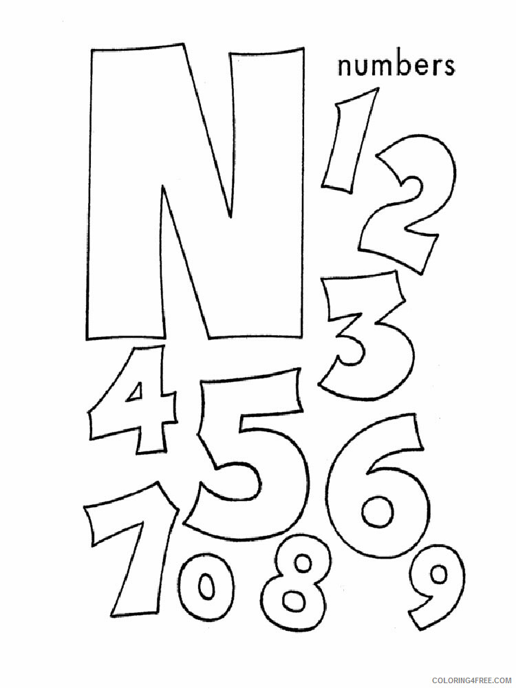 ABC Alphabet Coloring Pages Educational ABC Alphabet 40 Printable 2020 0504  Coloring4free - Coloring4Free.com