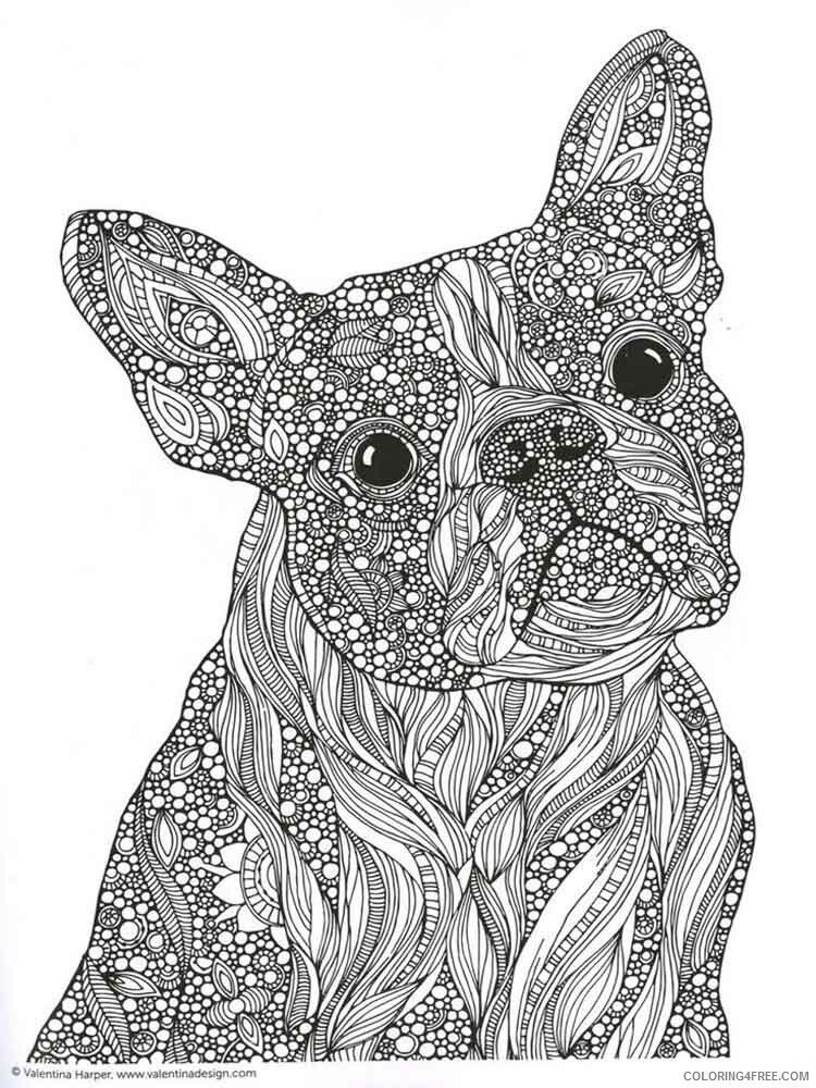 Adult Animals Coloring Pages adult animals 2 Printable 2020 096 Coloring4free