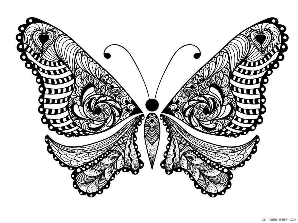 Adult Animals Coloring Pages adult animals 8 Printable 2020 112 Coloring4free