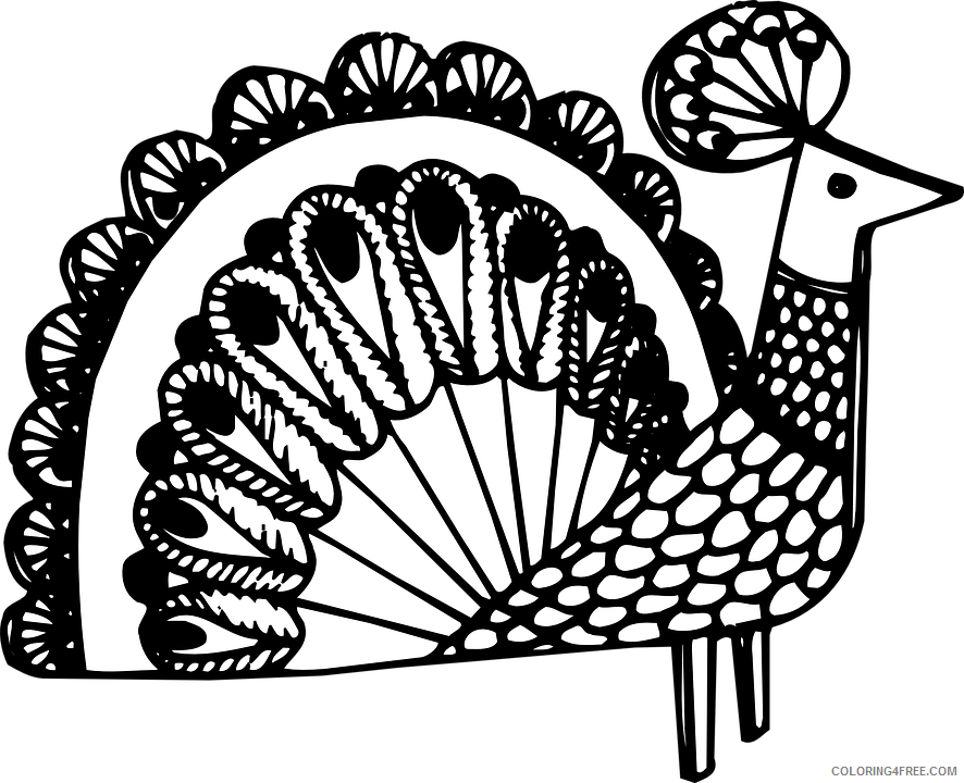 Adult Animals Coloring Pages free adult to print Printable 2020 147 Coloring4free
