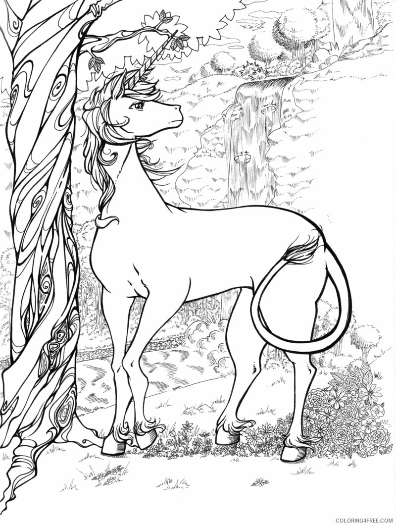Adult Animals Coloring Pages free hard to download Printable 2020 152 Coloring4free