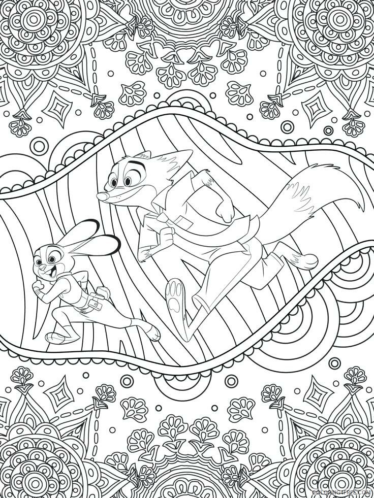 Adult Coloring Pages Disney for Adults Printable 2020 015 Coloring4free