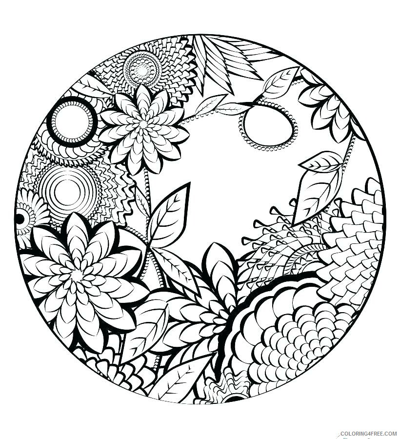 Adult Coloring Pages Easy For Adults Printable 2020 018 Coloring4free -  Coloring4Free.com