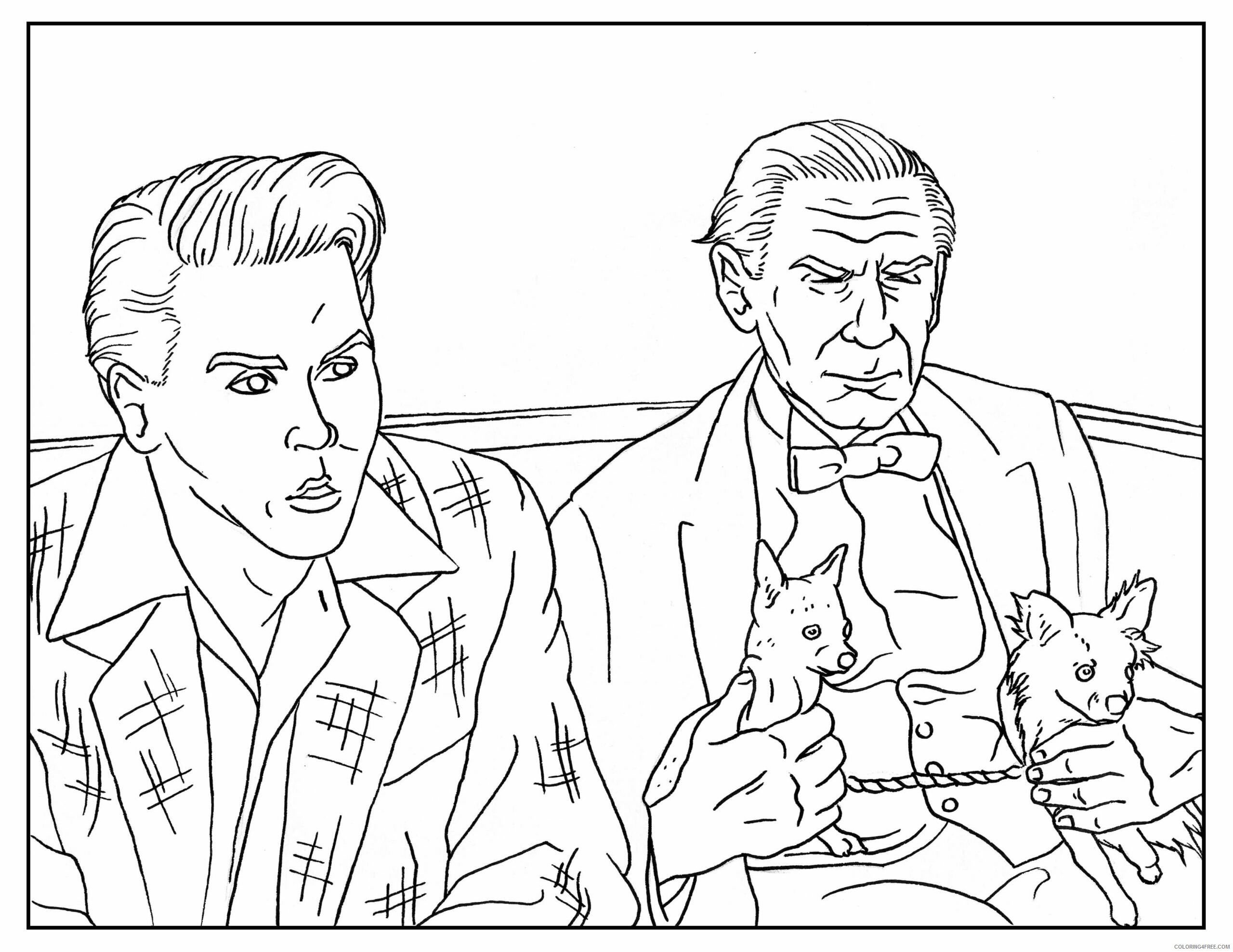 Adult Coloring Pages Ed Wood Adult Book Printable 2020 024 Coloring4free
