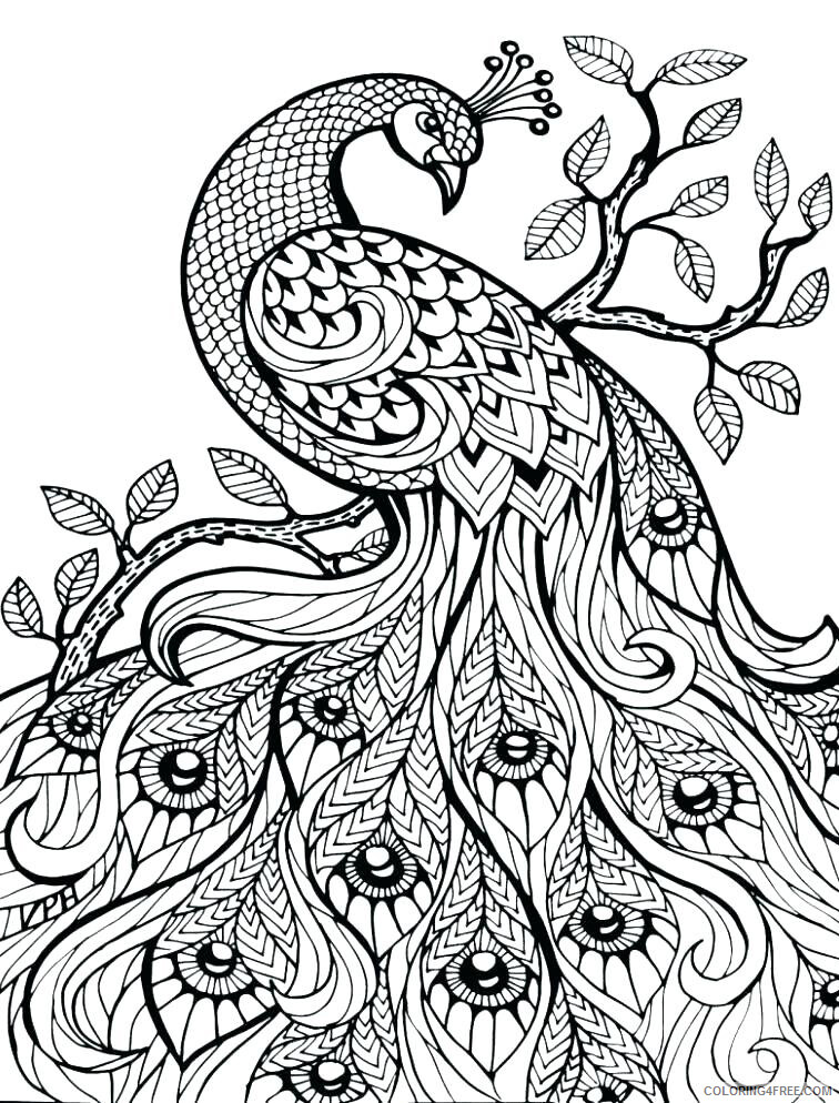 Adult Coloring Pages Print for Adults Printable 2020 057 Coloring4free