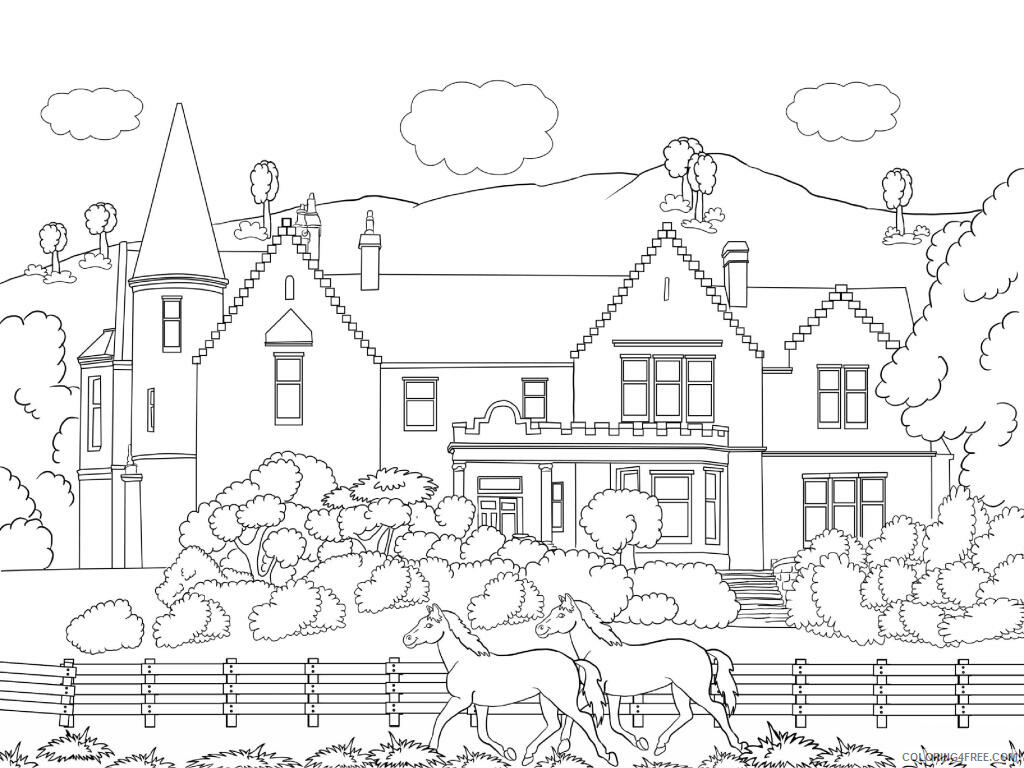 Adult Coloring Pages Printable Scenery for Adults Printable 2020 055 Coloring4free
