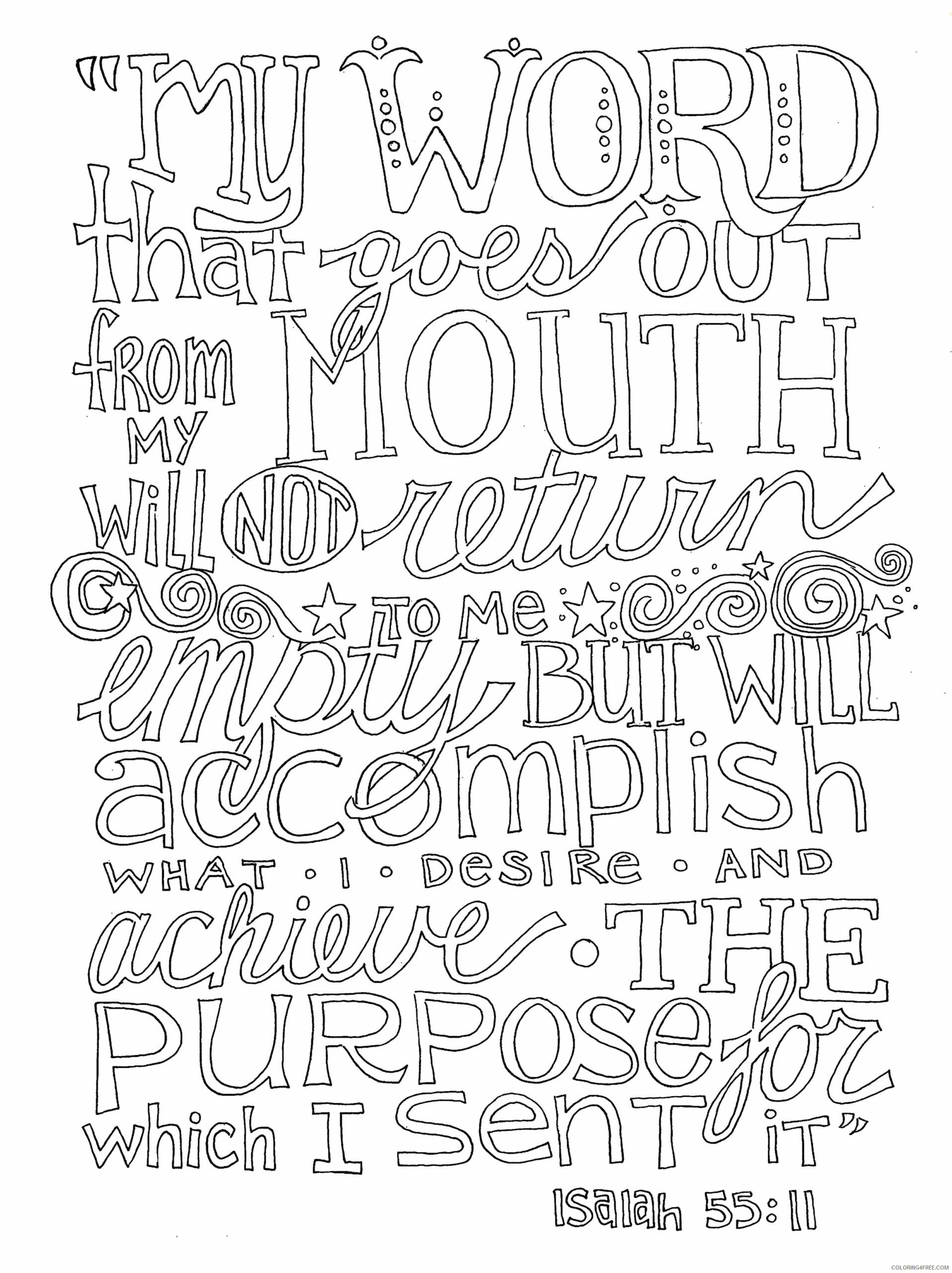 Adult Coloring Pages Quote for Adults 2 Printable 2020 058 Coloring4free