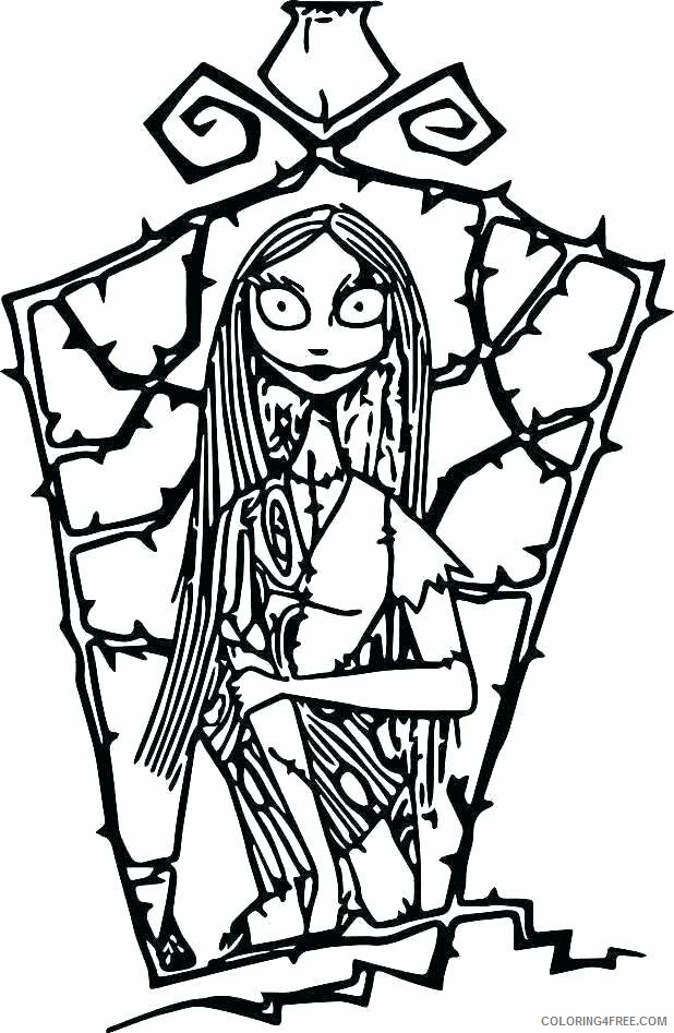 Adult Coloring Pages Sally Easy for Adults Printable 2020 067 Coloring4free