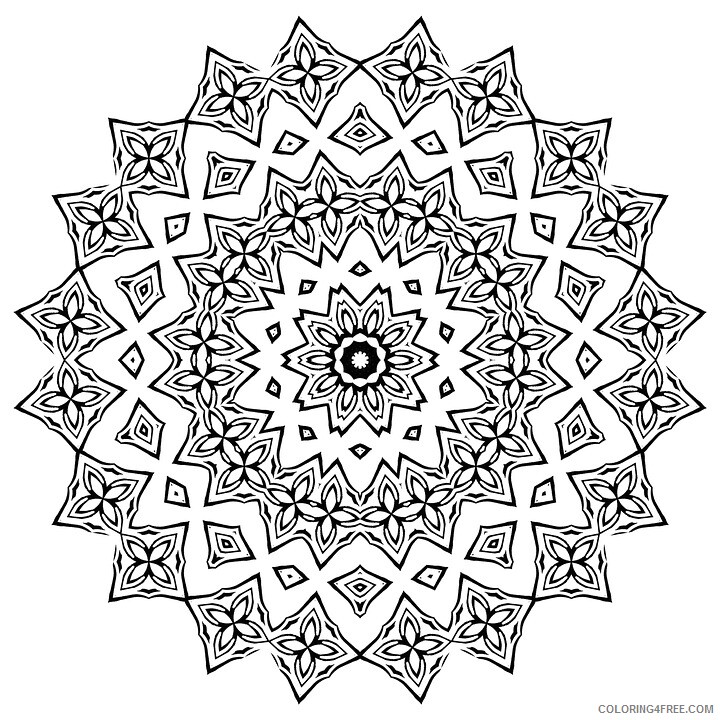 Adult Coloring Pages adult manada Printable 2020 004 Coloring4free