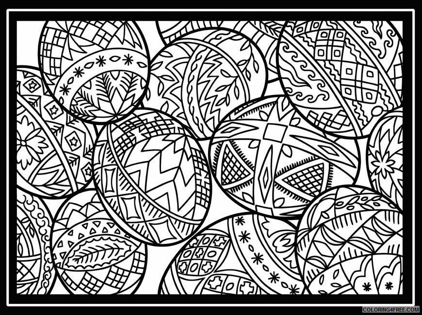 Adult Easter Coloring Pages Printable Easter for Adults Free Printable 2020 258 Coloring4free