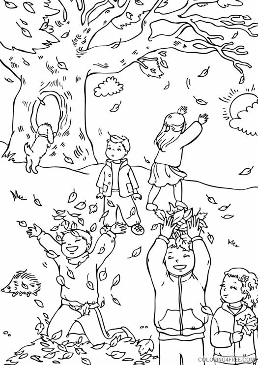 Adult Fall Coloring Pages Fall for Adults Printable 2020 291 Coloring4free