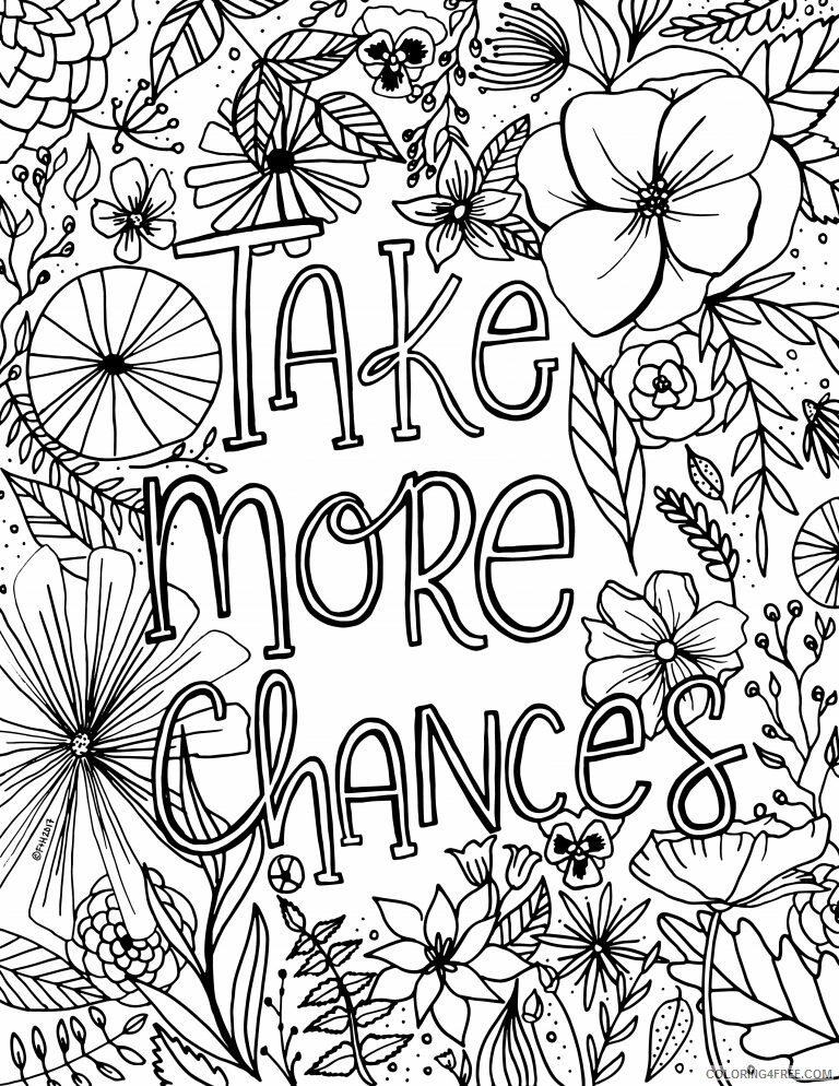 Adult Floral Coloring Pages Inspirational Floral For Adults Printable 2020 370 Coloring4free
