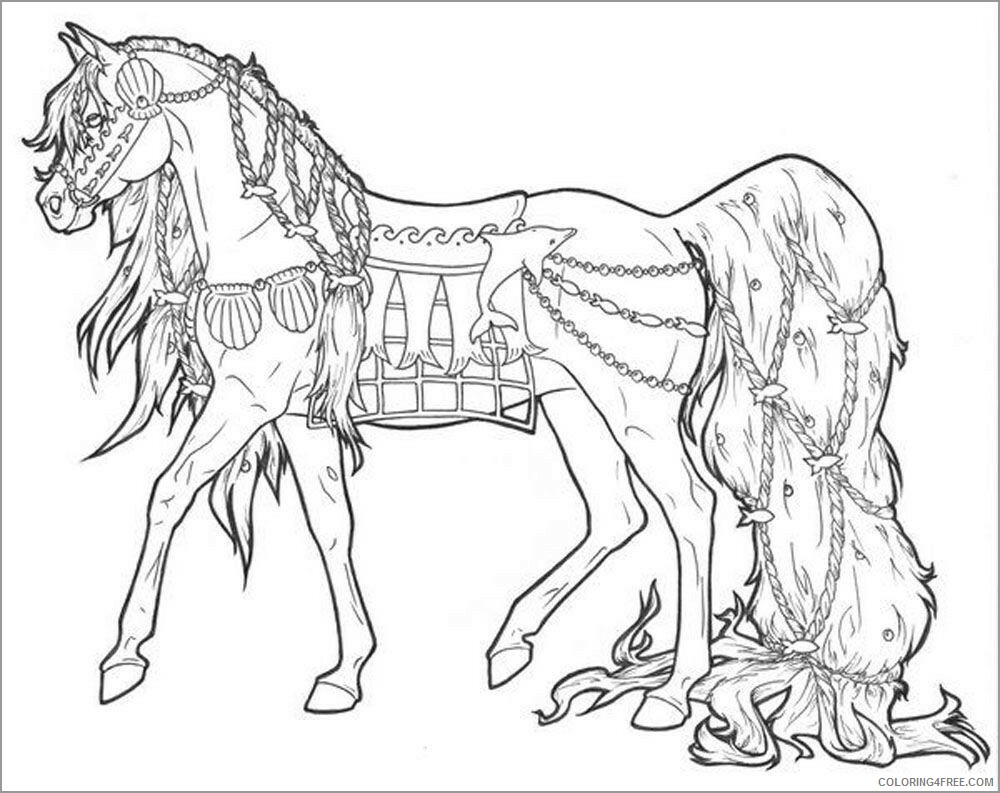 Adult Horse Coloring Pages printable horse for adults Printable ...
