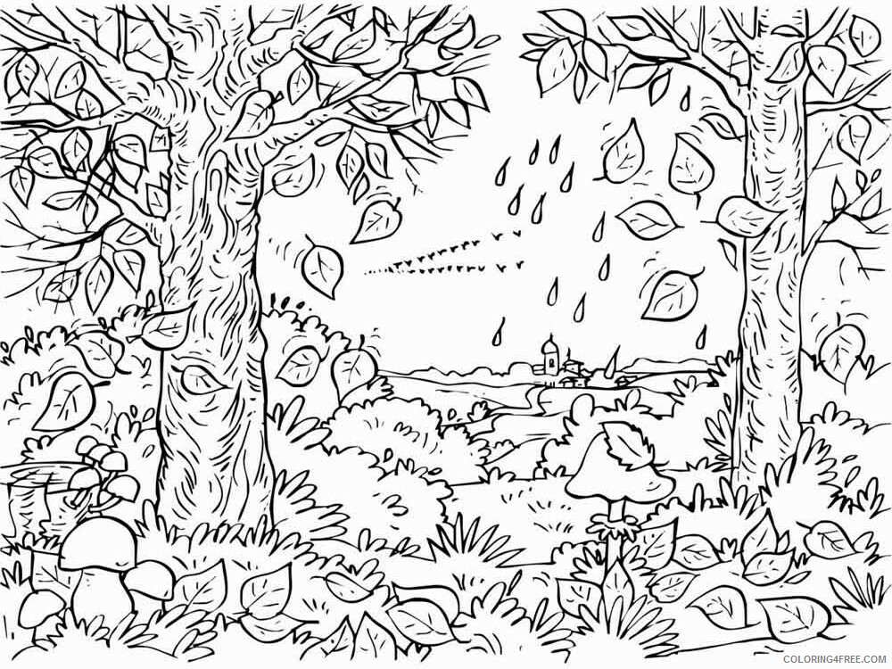 Adult Tree Coloring Pages adult tree 14 Printable 2020 493 Coloring4free
