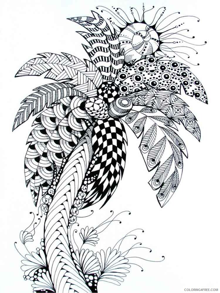 Adult Tree Coloring Pages adult tree 3 Printable 2020 497 Coloring4free