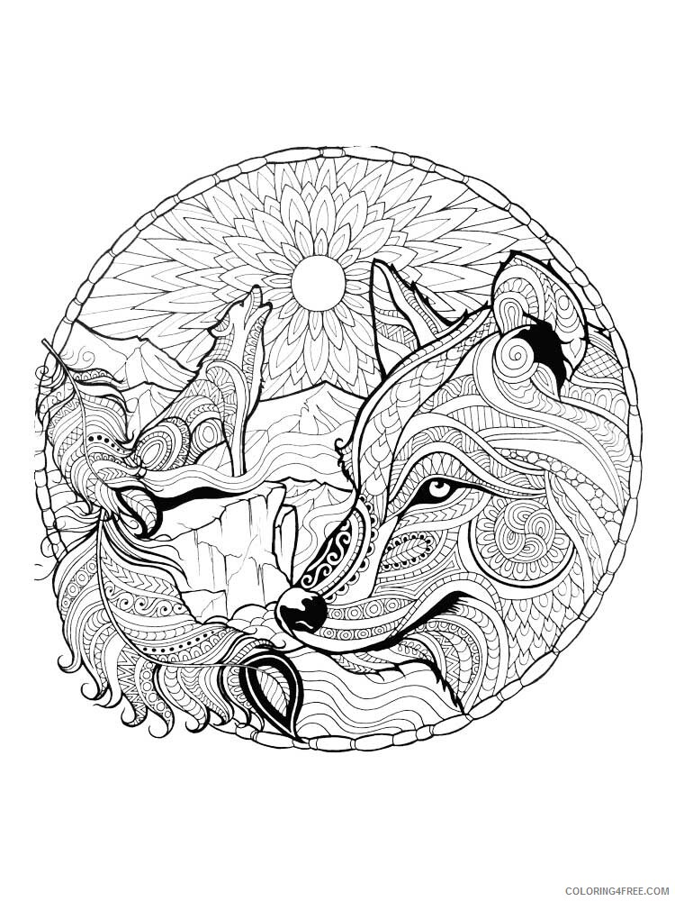 Printable Wolf Coloring Pages Www.robertdee.org