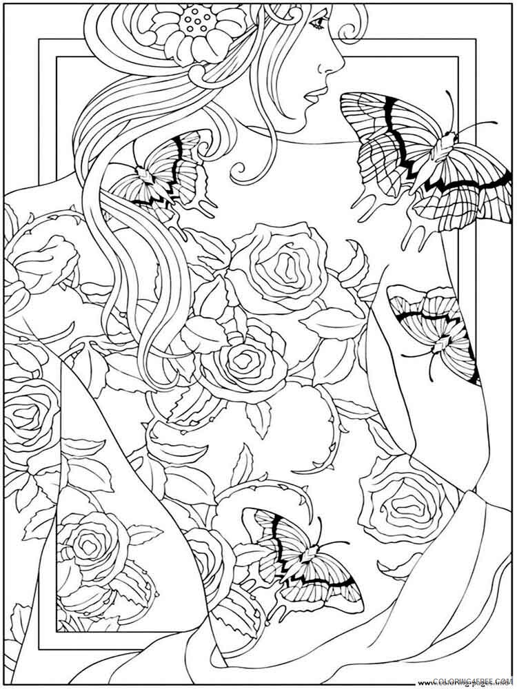 Adult to Print Coloring Pages adult to print 8 Printable 2020 488 Coloring4free