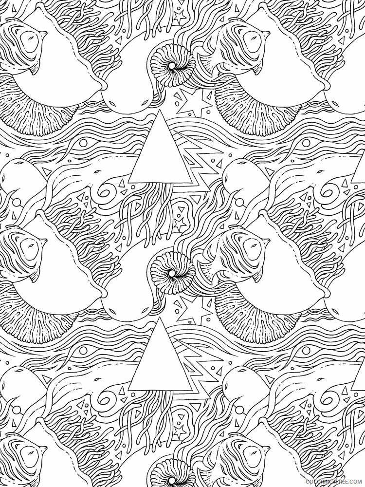 Anti Stress Coloring Pages Adult adult anti stress 11 Printable 2020 082 Coloring4free