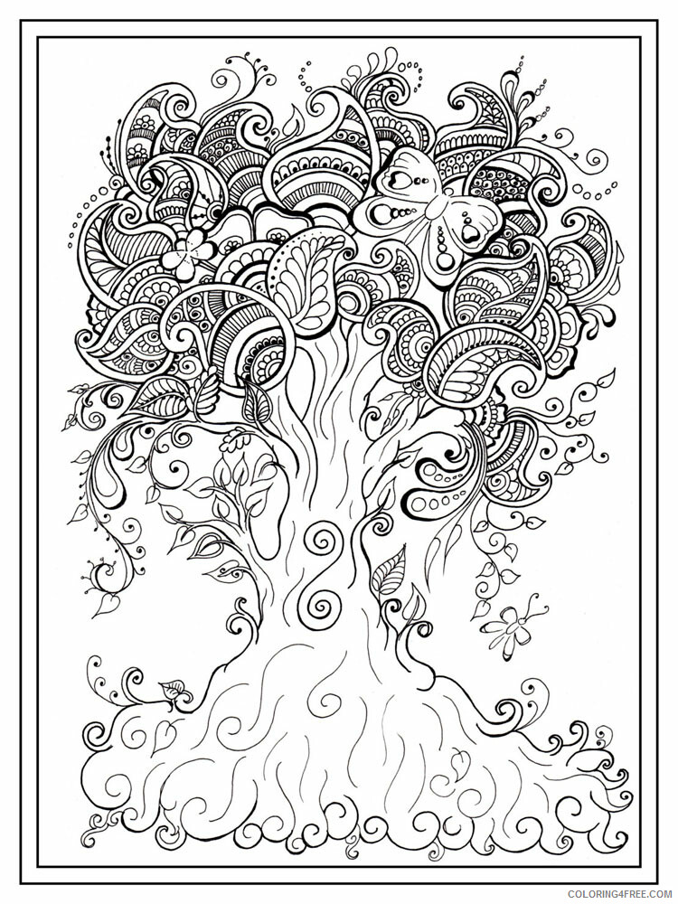 Anti Stress Coloring Pages Adult adult anti stress 16 Printable 2020 087 Coloring4free