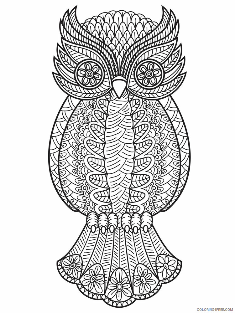 Anti Stress Coloring Pages Adult adult anti stress 17 Printable 2020 088 Coloring4free