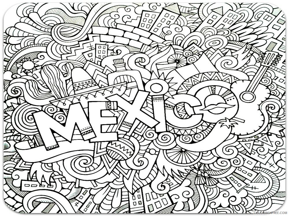 Anti Stress Coloring Pages Adult adult anti stress 18 Printable 2020 089 Coloring4free