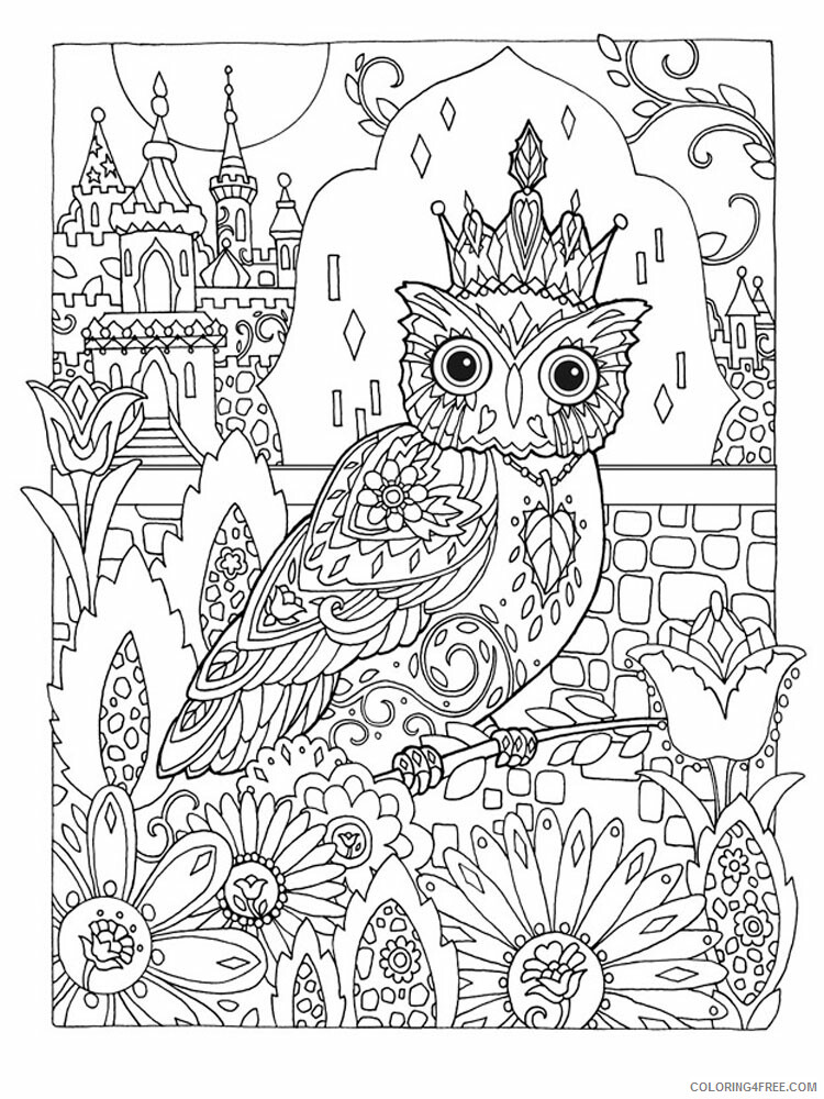 Anti Stress Coloring Pages Adult adult anti stress 2 Printable 2020 091 Coloring4free
