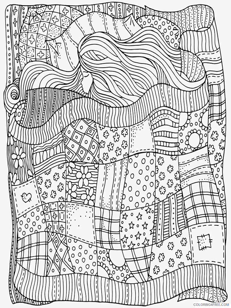 Anti Stress Coloring Pages Adult adult anti stress 23 Printable 2020 095 Coloring4free