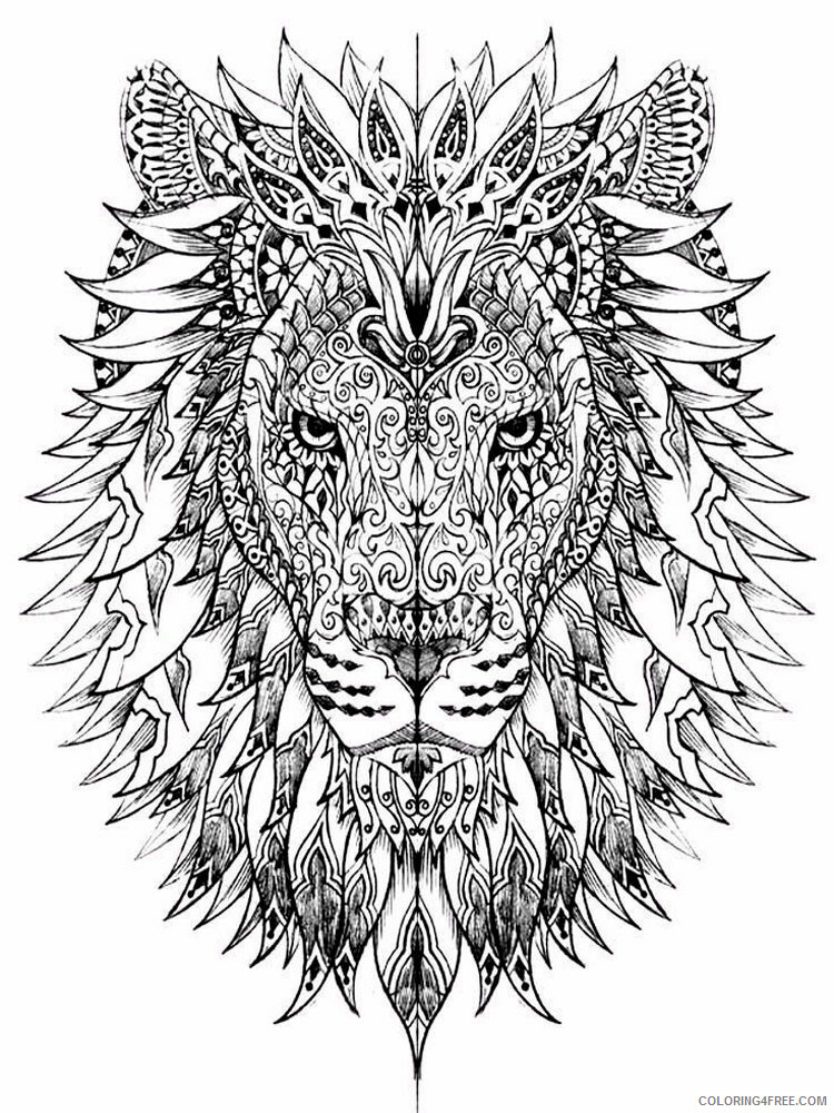 Anti Stress Coloring Pages Adult adult anti stress 25 Printable 2020 097 Coloring4free
