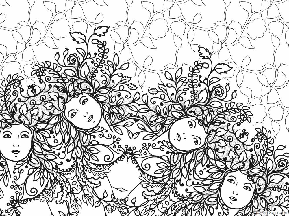 Anti Stress Coloring Pages Adult adult anti stress 27 Printable 2020 099 Coloring4free