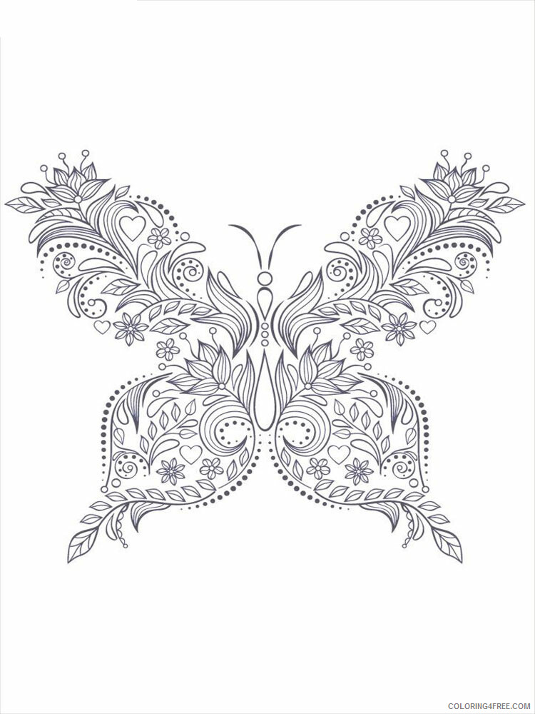 Anti Stress Coloring Pages Adult adult anti stress 4 Printable 2020 108 Coloring4free