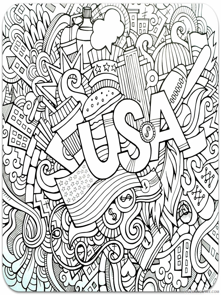 Anti Stress Coloring Pages Adult adult anti stress 51 Printable 2020 117 Coloring4free