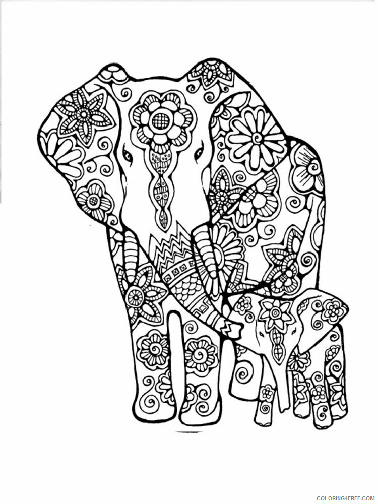 Anti Stress Coloring Pages Adult adult anti stress 56 Printable 2020 122 Coloring4free