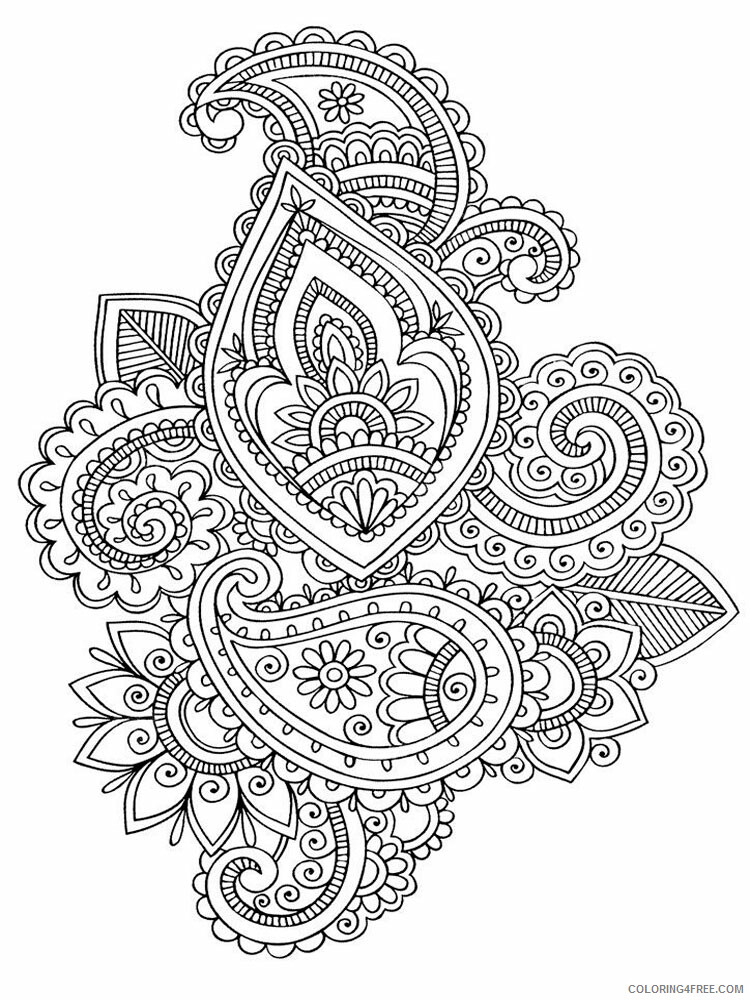 Anti Stress Coloring Pages Adult adult anti stress 8 Printable 2020 128 Coloring4free