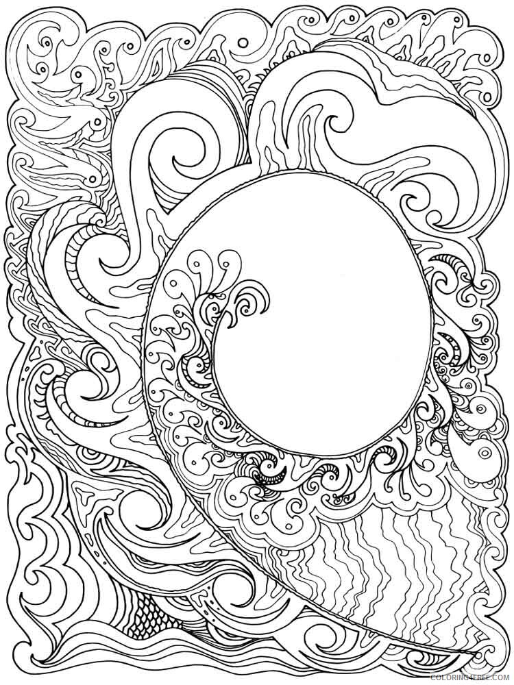 Art Therapy Coloring Pages Adult adult art therapy 8 Printable 2020 151 Coloring4free