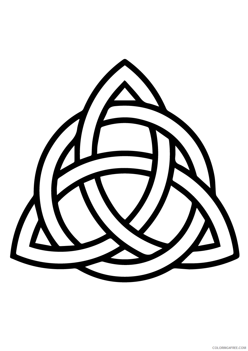 Celtic Knot Coloring Pages Adult Celtic Knot Printable 2020 185 Coloring4free