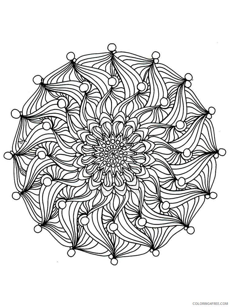 Celtic Knot Coloring Pages Adult adult celtic knot 11 Printable 2020 170 Coloring4free