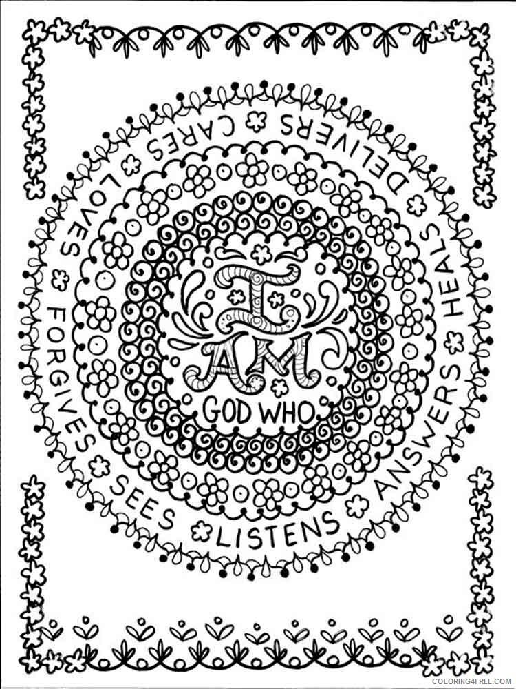 Chakra Mandalas Coloring Pages Adult adult chakra mandalas 9 Printable 2020 200 Coloring4free