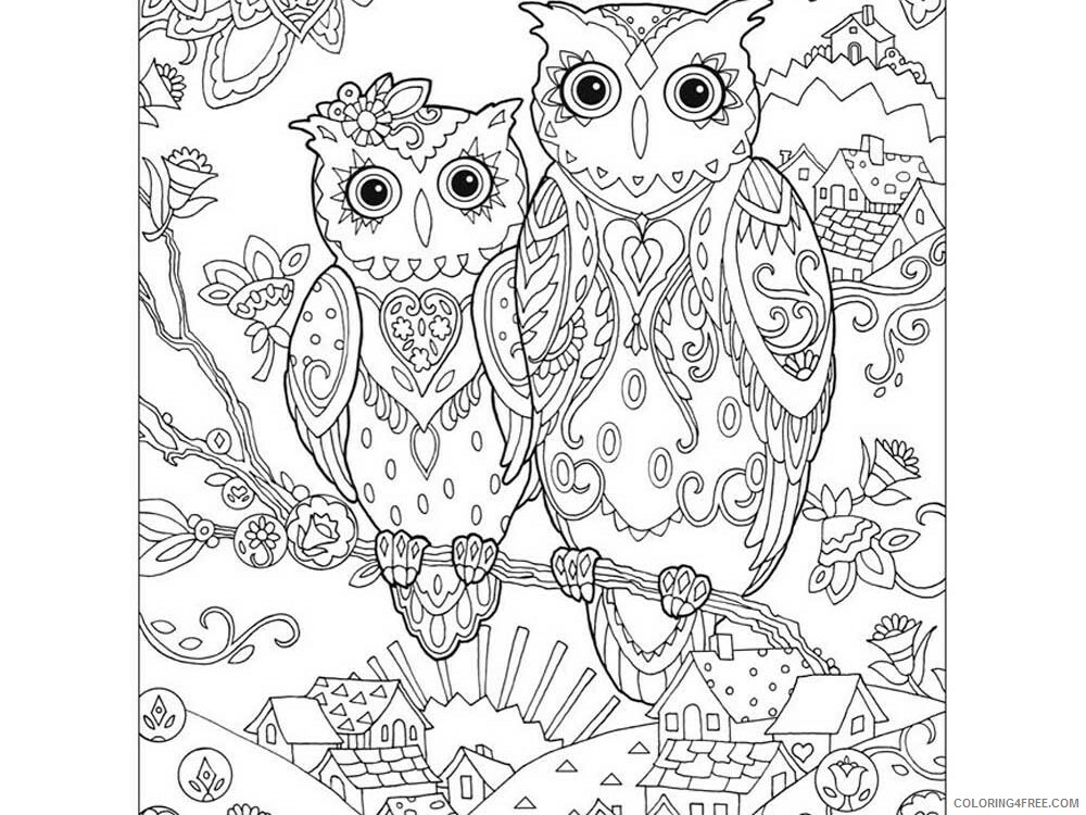 Complex Coloring Pages Adult complex for teens and adults 13 Printable 2020 209 Coloring4free