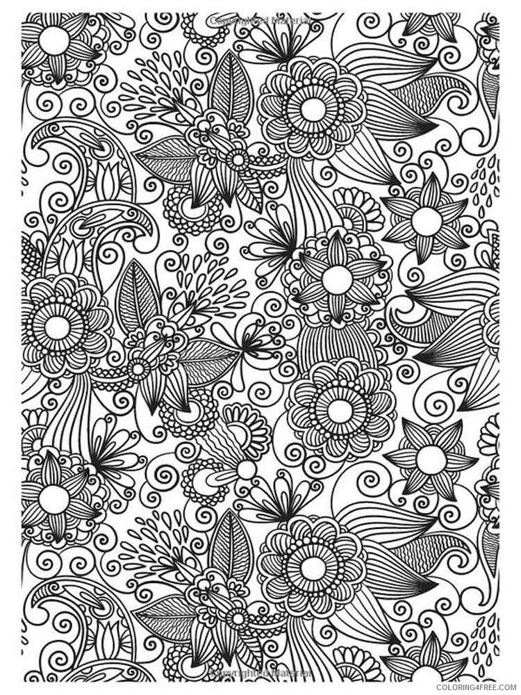 Detailed Coloring Pages Adult adult detailed 1 Printable 2020 263 Coloring4free
